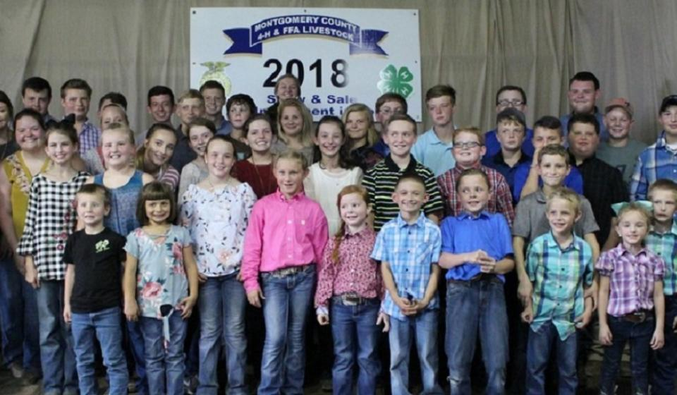 Montgomery County 4-H Livestock Club Show & Sale