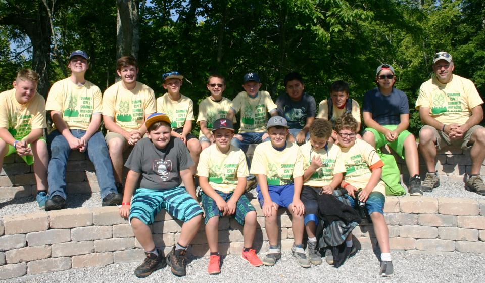 4-H Camp Cabin # 11 Boys
