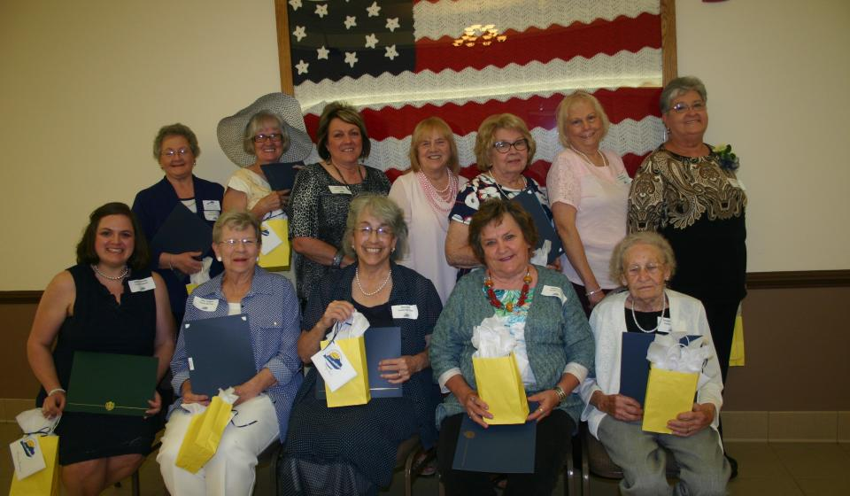 Montgomery County Homemaker County Past Officers & Chairs