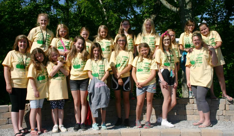 4-H Camp Group 2 Cabin #3 2017
