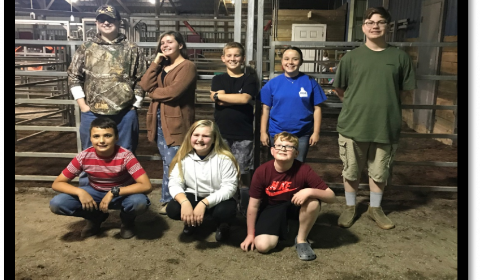 Montgomery County 4-H Livestock Club 2020 Officers