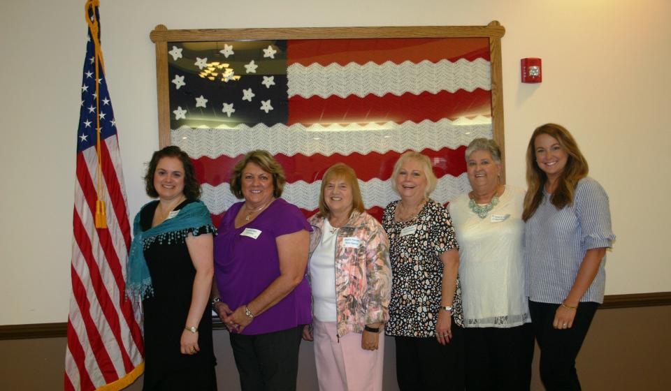 Montgomery County Homemaker County Officers 2017-19
