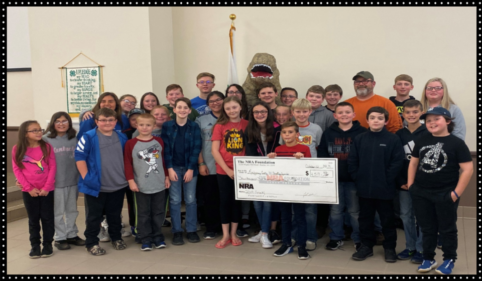 Montgomery County 4-H Shooting Sports receives NRA Grant.